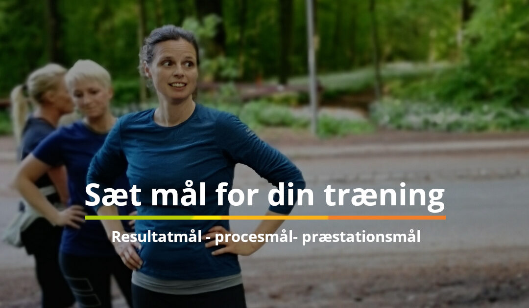Motivation til at løbe
