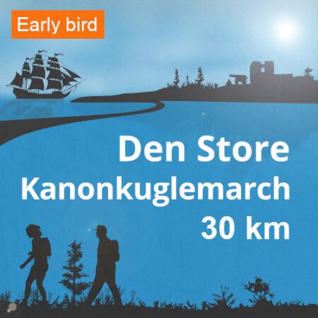 Den Store Kanonkuglemarch 30 km